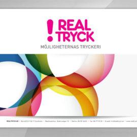 Realtrycks broschyr på nätet